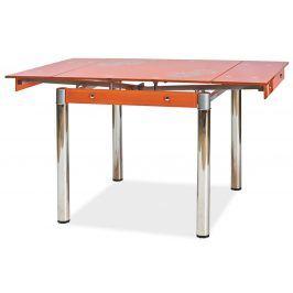 Casarredo, Jídelní rozkládací stůl GD-082, oranžový