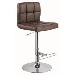 Barová židle C-105, hnědá