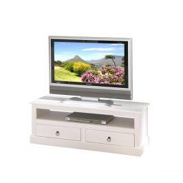Idea TV stolek PROVENCE 3, bílá