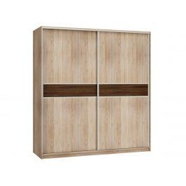 MORAVIA FLAT Šatní skříň PUERTO 200B, barva: