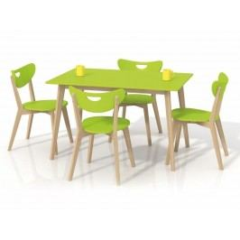 Halmar Jídelní stůl LORRITA, zelená