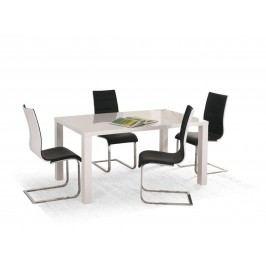 Halmar Jídelní stůl rozkládací RONALD 80/120, bílý