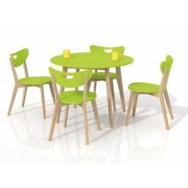 Halmar Jídelní stůl PEPPITA, zelená