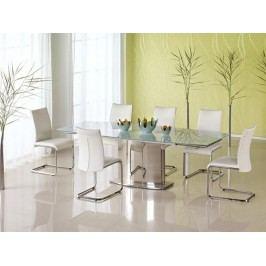 Halmar Jídelní stůl rozkládací ALESSANDRO, kov/sklo