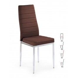 Halmar Židle K70C-NEW, hnědá