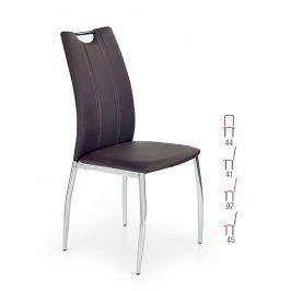 Židle K-187, hnědá