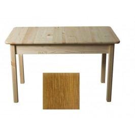 MAGNAT Stůl 120/155 x 75 cm nr.8, masiv borovice/moření dub