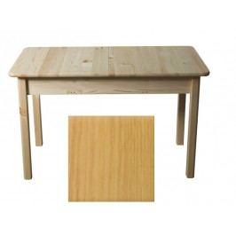MAGNAT Stůl 120/170 x 80 cm nr.8, masiv borovice/moření olše
