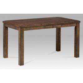 Autronic Jídelní stůl 140x80, ořech-antik, T-1990 ANT