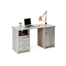MONACO, psací stůl, dub shannon, psací stůl, dub shannon