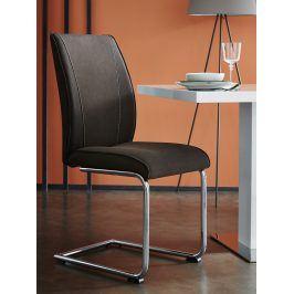 ALISTER, židle, hnědá
