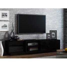 Televizní stolek RTV SIGMA 1E, černá
