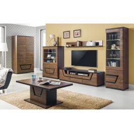 TESS, obývací pokoj, ořech