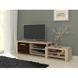TV stolek ORION, dub sonoma/dub sonoma tmavý