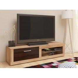 MORAVIA FLAT TV stolek VIKY NEW, dub sonoma/dub sonoma tmavý
