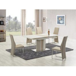 Halmar CAMERON stůl rozkládací, champagne/dub sonoma