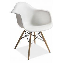 Jídelní židle MONDI, bílá