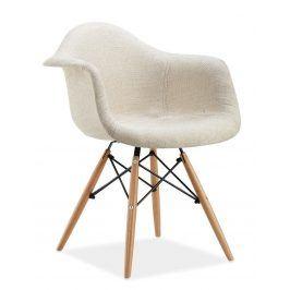 Jídelní židle BONO, krémová