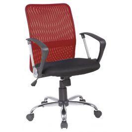 Smartshop Kancelářská židle Q-078 červená/černá
