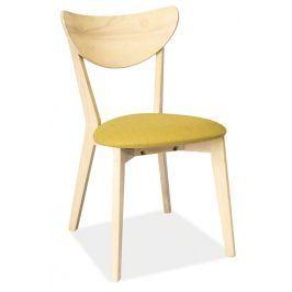 Jídelní čalouněná židle CD-37, zelená