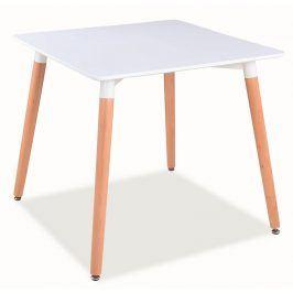 Smartshop Jídelní stůl NOLAN II 80x80 cm, bílá