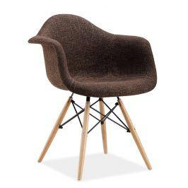 Jídelní židle BONO, hnědá