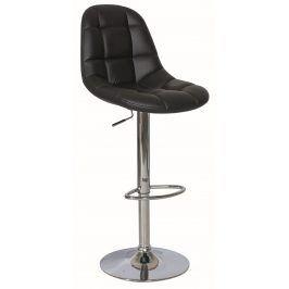 Barová židle KROKUS C-198, černá