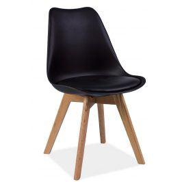 Jídelní židle KRIS, černá