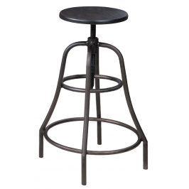Barová židle TANGO, ořech/kov