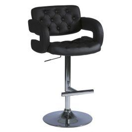 Barová židle KROKUS C-141, černá