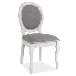 Jídelní čalouněná židle FN-SC, bílá
