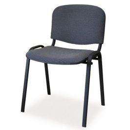 Čalouněná židle ISO, černá/šedá