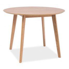 Jídelní stůl kulatý MOSSO II, dub