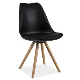 Jídelní židle ERIC, černá