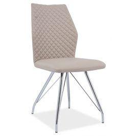 Jídelní čalouněná židle H-604, cappuccino