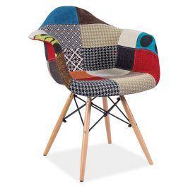 Jídelní židle DENIS A, patchwork
