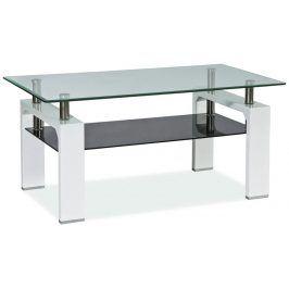 Smartshop Konferenční stolek LISA II,  bílý lak