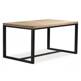 Smartshop Jídelní stůl LORAS, dub/černá