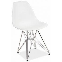 Jídelní židle LINO, bílá