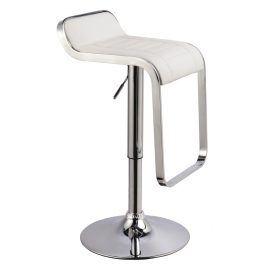 Barová židle KROKUS C-621, bílá