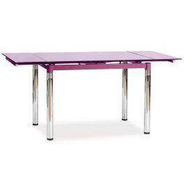 Jídelní stůl GD-018 rozkládací, fialová