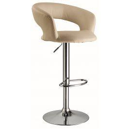 Barová židle KROKUS C-328, krémová
