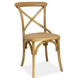 Jídelní dřevěná židle LARS, buk