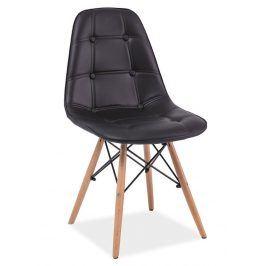 Jídelní židle AXEL, černá