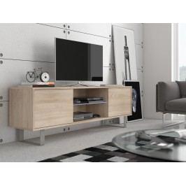 MORAVIA FLAT KING 2 TV stolek, dub sonoma