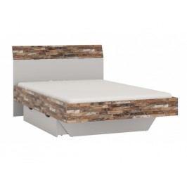 ORFA MIX ALIGÁTOR postel s úložným prostorem CAYL 02, jasan šedý/maracaibo