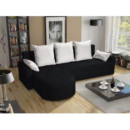 Smartshop Rohová sedačka WENECJA PIK BIS 12, černá látka