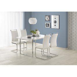 Halmar Jídelní stůl LION 140X80 cm, bílý