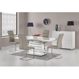 Jídelní stůl rozkládací ONYX, 160/200x90 cm, bílý