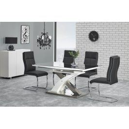 Halmar Jídelní stůl rozkládací SANDOR 2, 160/220x90 cm, černý